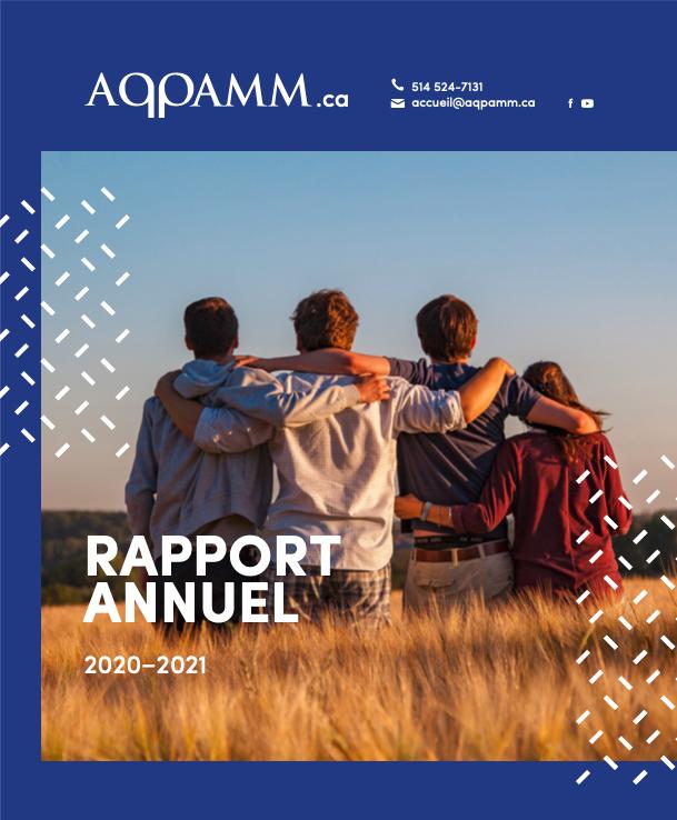 Rapport Annuel 2020-2021 Couverture